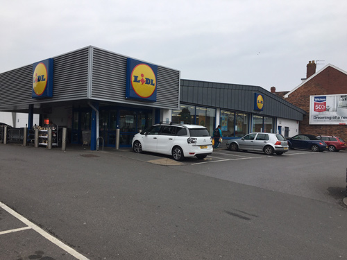 Lidl says its stores have been so popular, there is a demand for two branches in the area