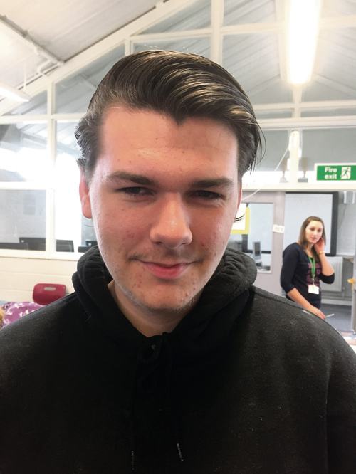 I got six Cs and one B and I'm really happy because I've got the grades I needed to get into Filton SGS to study sports journalism.     Matthew Daley, from Hanham