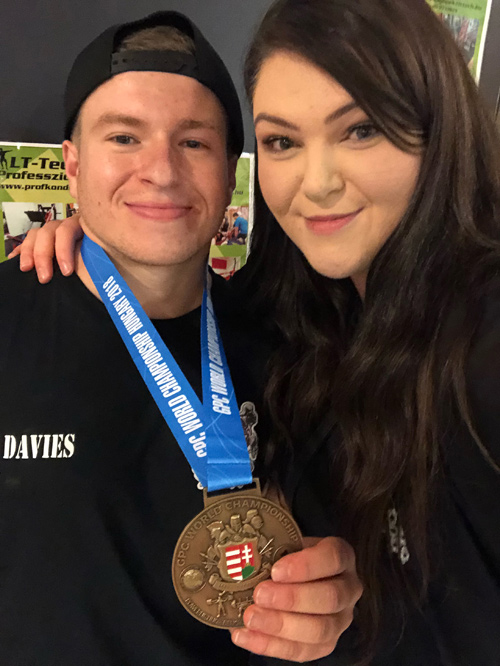 Dan and wife Molly are bringing the British powerlifting finals to Bristol