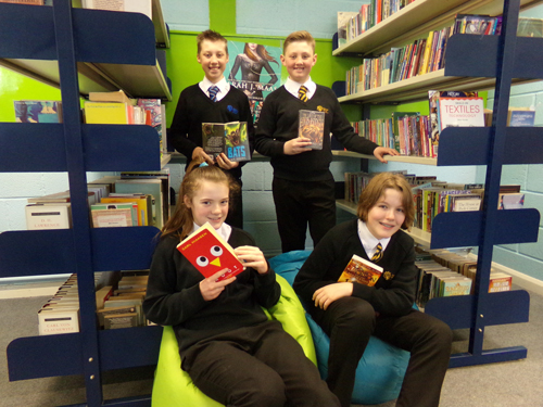 New library unveiled at Hanham Woods