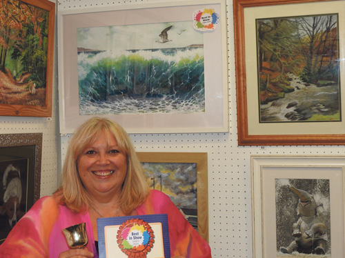 'A cracking exhibition' of artistic talents
